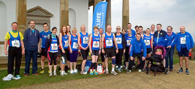 Aycliffe Running Club at Sedgefield Relays