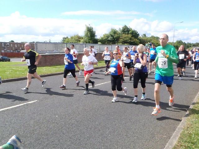 Aycliffe 10k runners