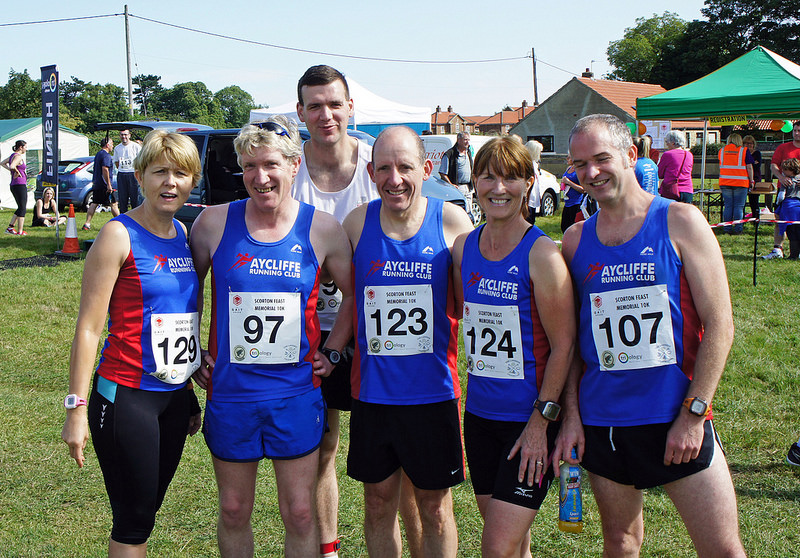 Picture of ARC runners at Scorton 10k