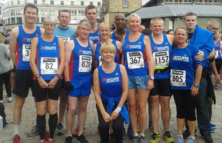 ALT Runners at Darlington 10k