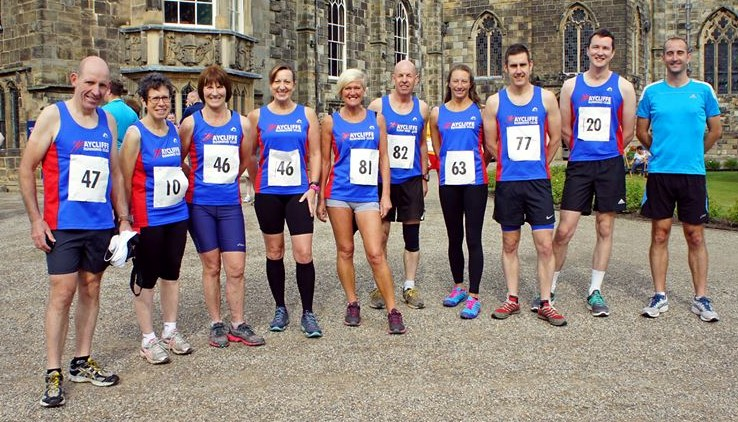 ARC Runners at Auckland Castle