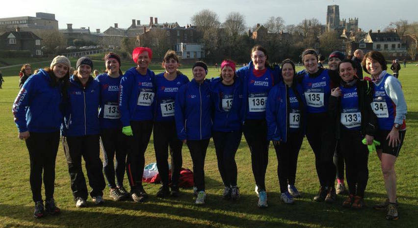 ARC ladies team at Durham XC