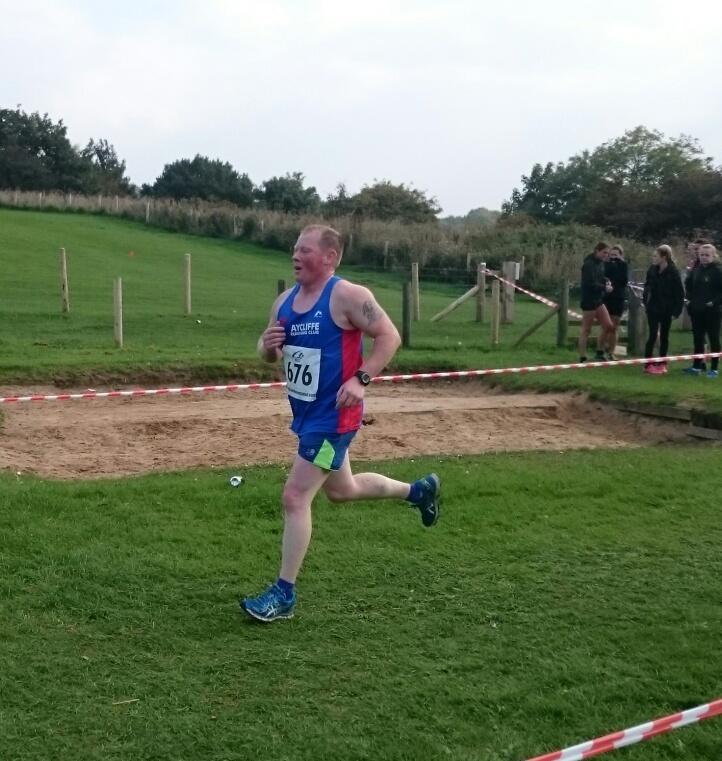 Jason Dixon running XC