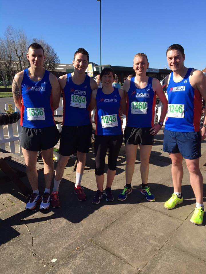 5 ARC runners at Mermaid 10k