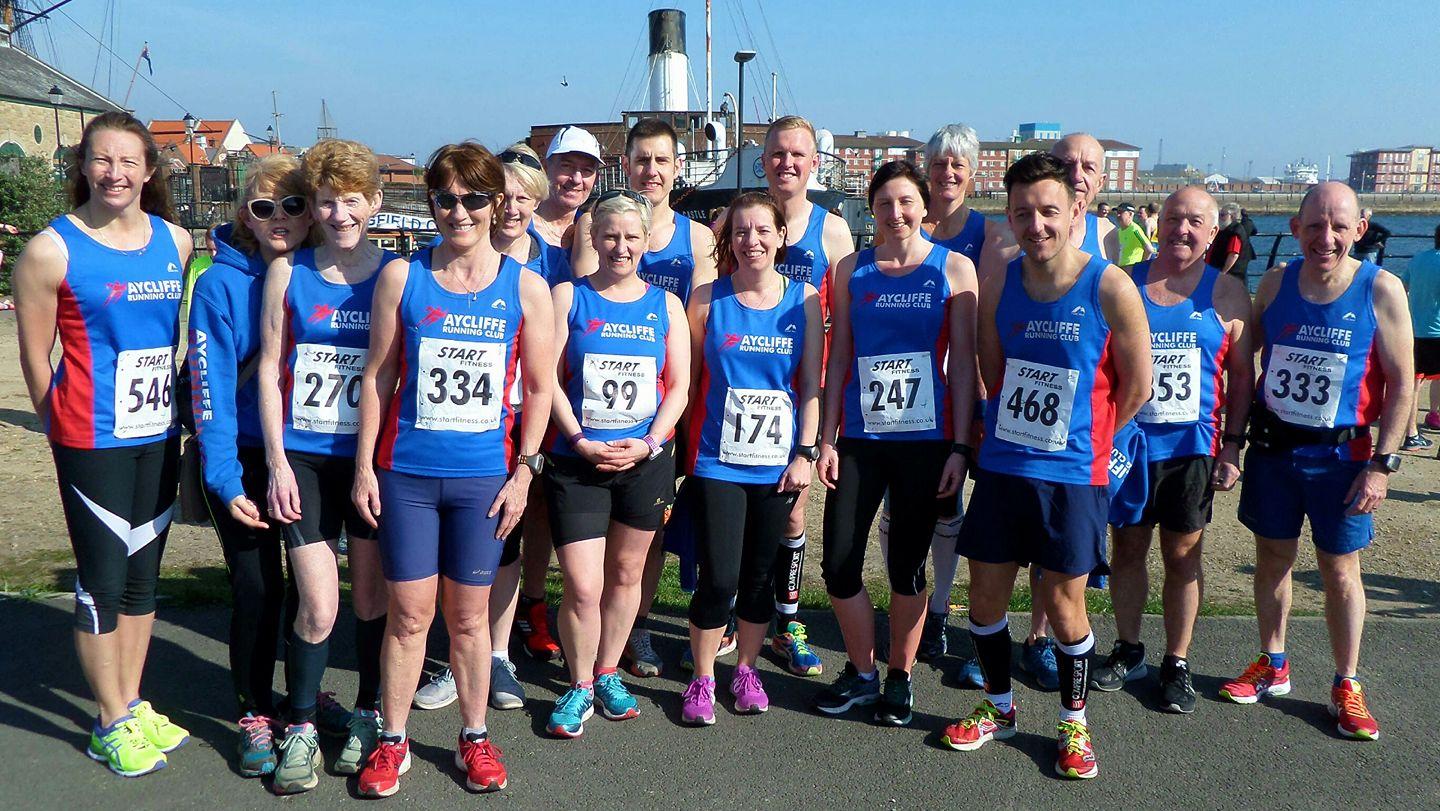 ARC runners at Hartlepool