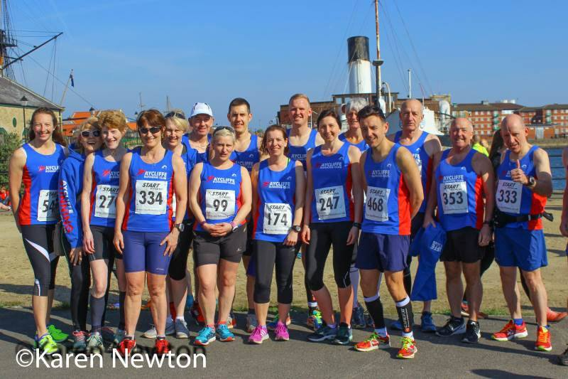 Members of Aycliffe Running Club