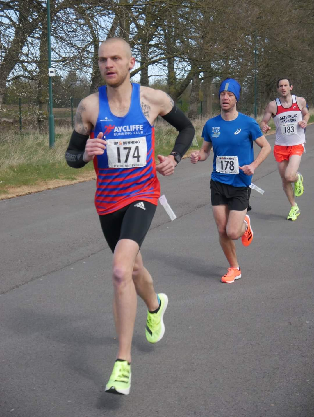 John FIRBY at the Endeavour 5K