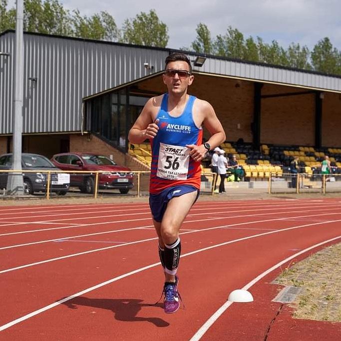John SURTEES at the NEMAA 5000m - Saturday, 19 June 2021