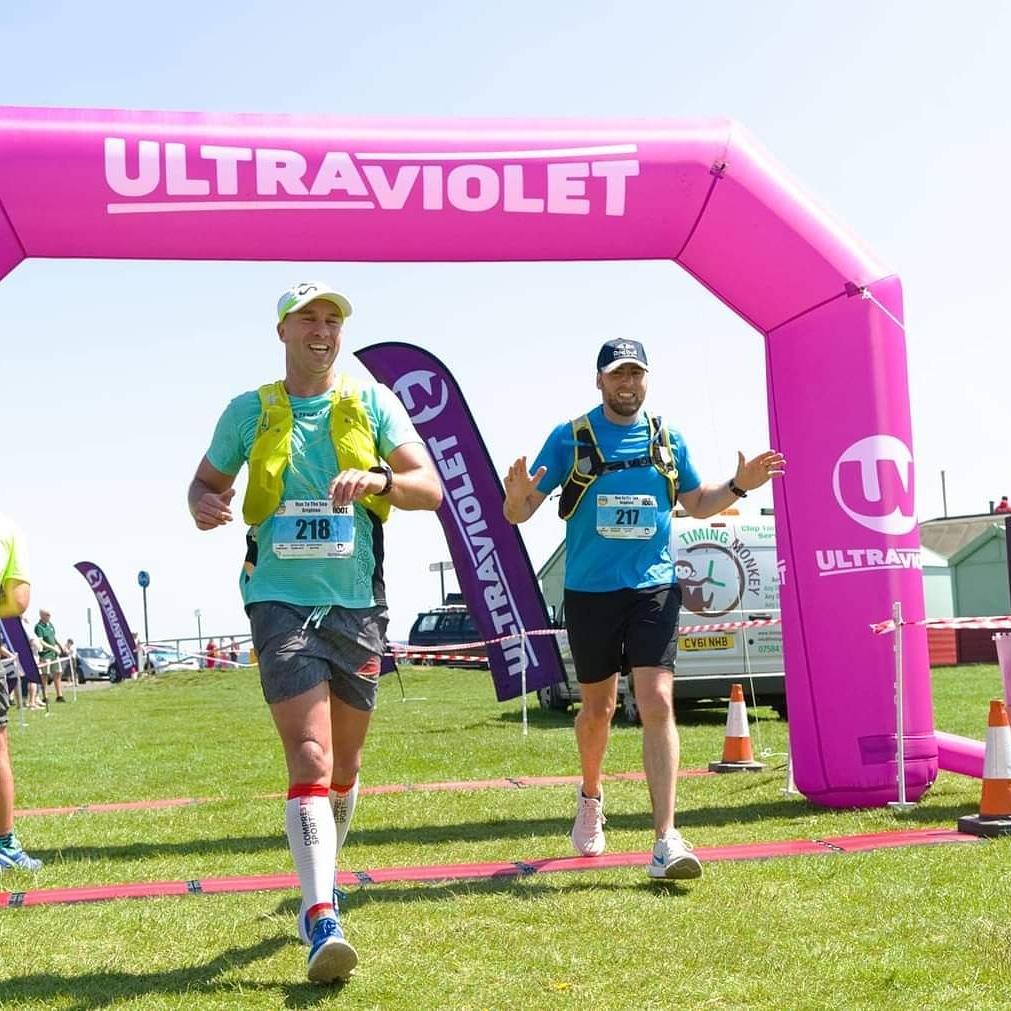 Simon TURNER and Matt SOMMERVILLE - Run to the Sea Ultra