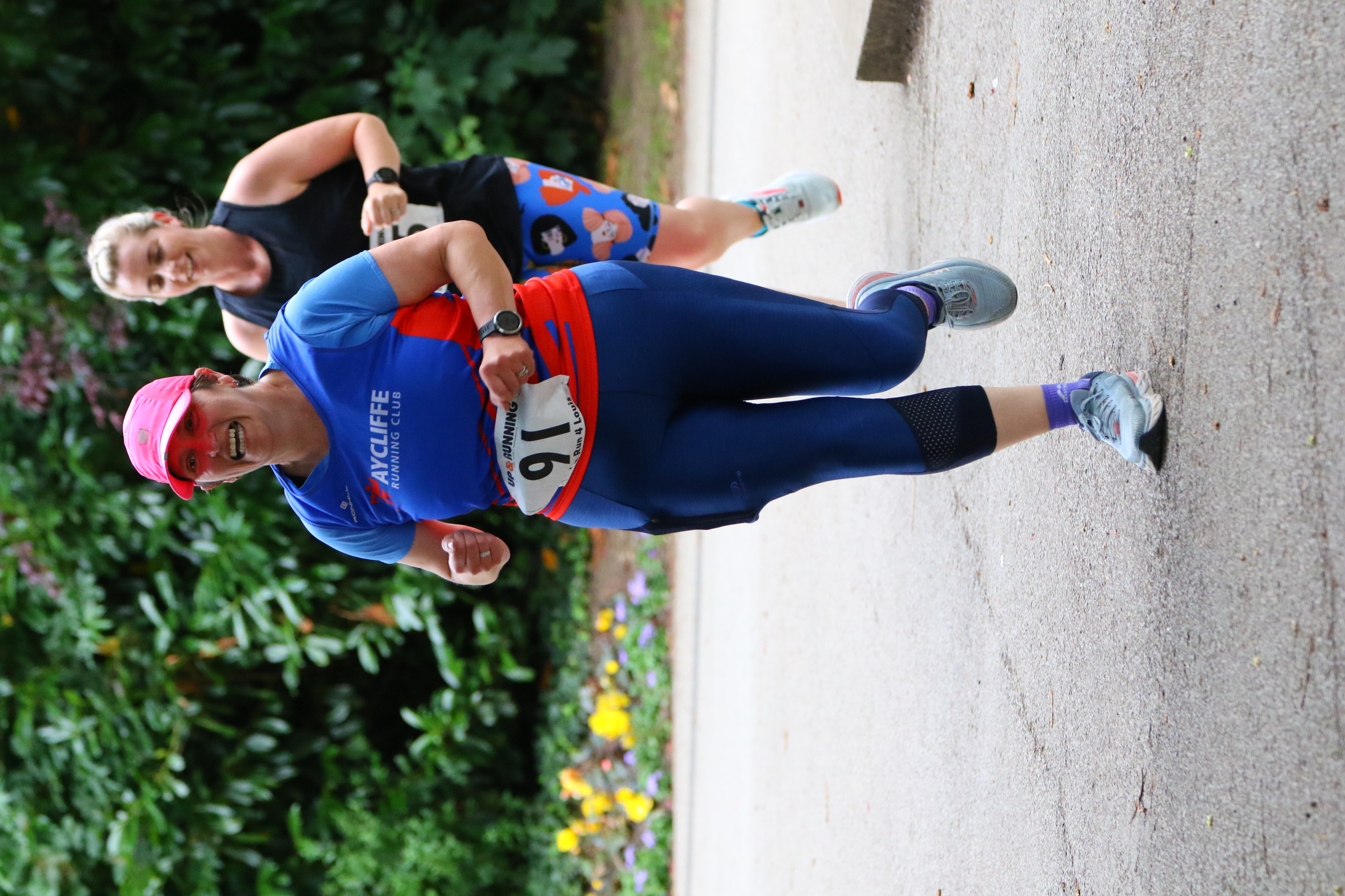 Donna CAMPBELL at the Run 4 Louis event - Photo - Karen HARLAND