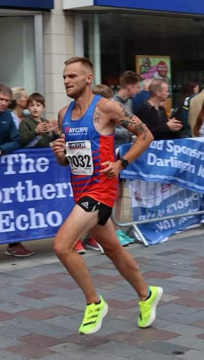 John FIRBY at Darlington 10K