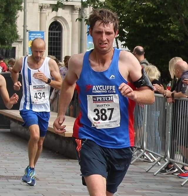 Martyn KNOX at Darlington 10K