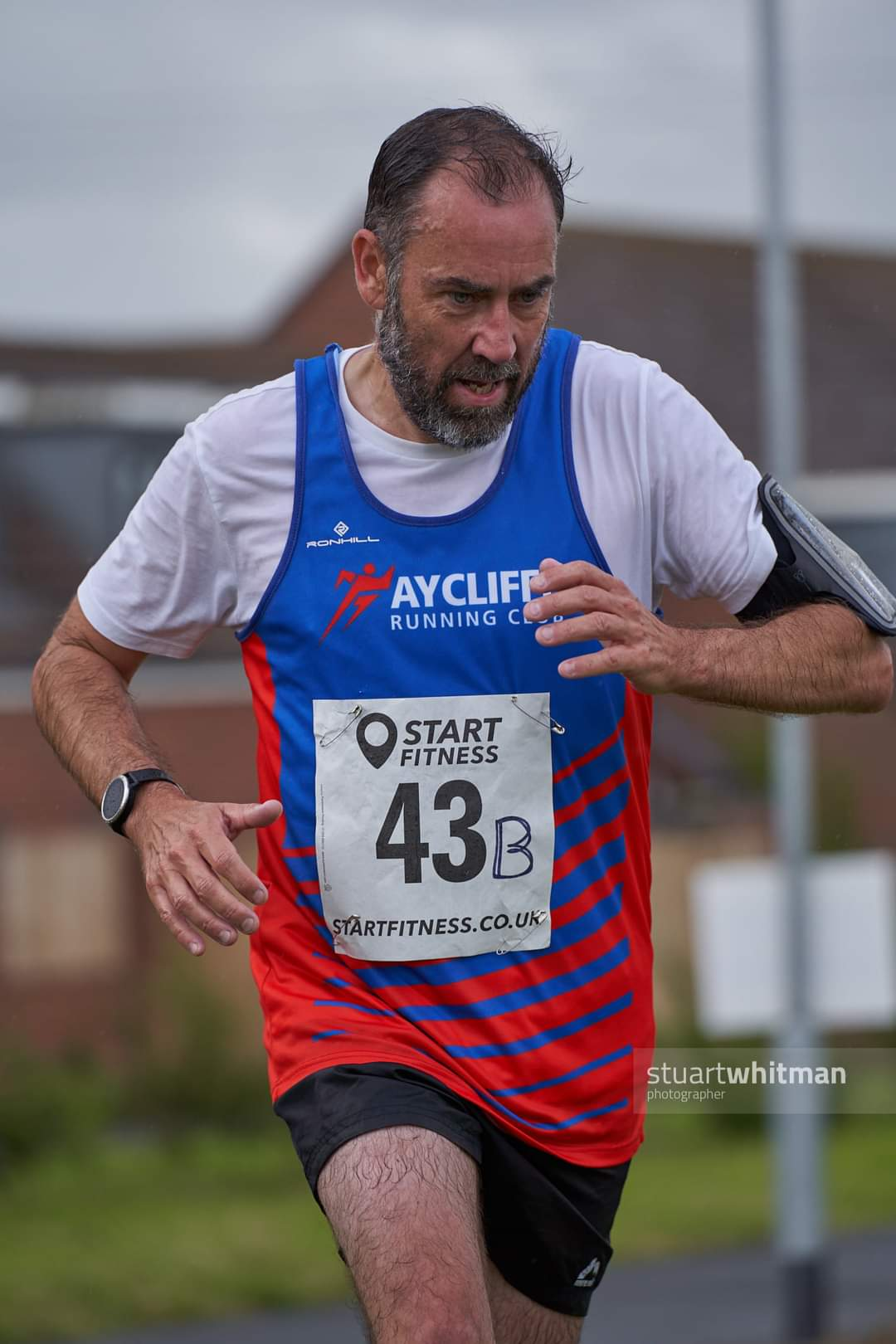 Peter TENNICK at the Gosforth Harriers Summer Relays - Photo - Stuart WHITMAN