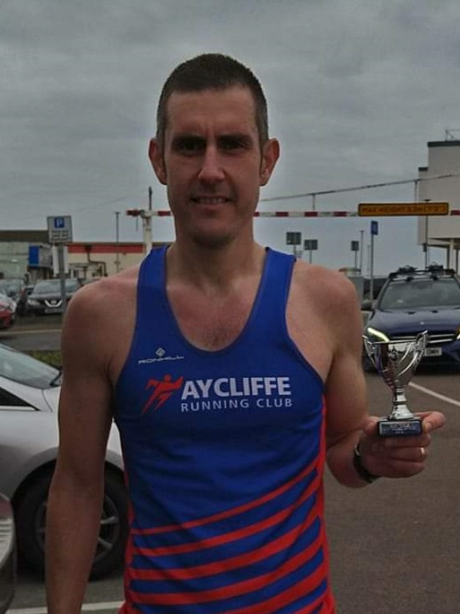 Richard CAMPBELL - Second Place at the Hornsea 20 Mile Trail Race B